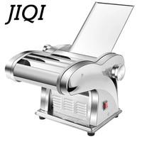 JIQI Electric Noodle Press Machine Spaghetti Pasta Maker Commercial Stainless Steel Dough Cutter Dumplings Roller Noodles Hanger