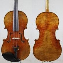 """Античный масляный лак! После Guarner Del Gesu viola 15-16,5 дюймов M517"""" Европейское дерево"""""""