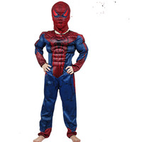 Carnaval Costumes For Amazing Spider Man Spiderman Costume Kids Muscle Boy Halloween Costume For Kids Girls