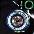 Caso do Anel Chave do Interruptor de Ignição luminosa cobertura para Opel Astra Corsa Zafira Antara Meriva Chevrolet chevy Cruze reequipamento