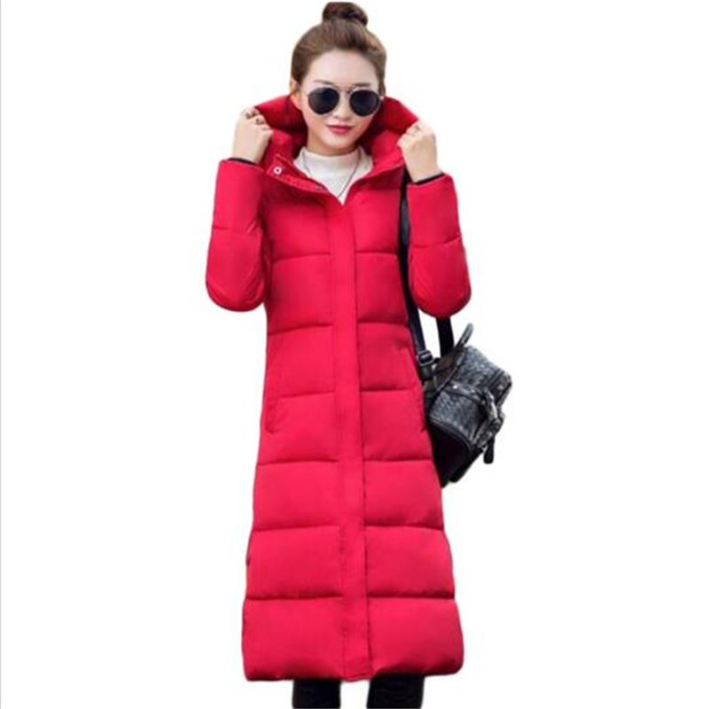 ФОТО TYJTJY Women jacket 2017 brand new fashion Slim Hooded thick warm coat long section women Contain White duck down Winter coat