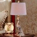 Pfau Klassische Lustre Led Tisch Lampe Harz Schlafzimmer Led Tisch Leuchten Wohnzimmer Led Tisch Licht Luminarias De Mesa|Tischlampen|Licht & Beleuchtung -