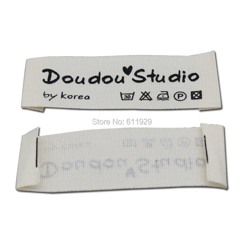 ᐂEnvío Gratis personalizar prenda impresas/etiquetas personalizadas ...