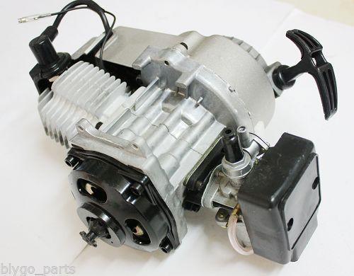 49cc 2 stroke Pull Start Engine Motor Mini Pocket PIT Quad Dirt Bike ATV Buggy