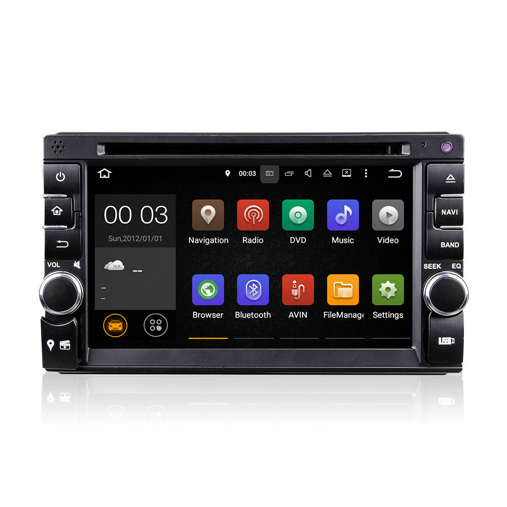 LY Quad Core Android 5.1 car dvd 2din universal Car DVD Player double din Stereo GPS Navigation car radio android 2din in dash