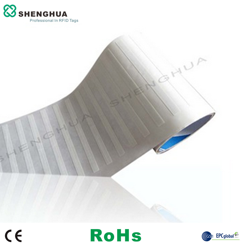 10pcs/lot Smart Management UHF 860-960MHz Book Rfid Labels RFID Blank Adhesive Label Printable Library Security Rfid Sticker