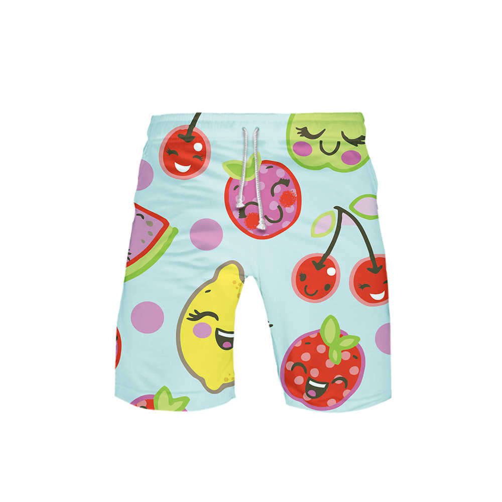 Bee Print shorts 3D Animal Men Women beach shorts Sweatshirt Harajuku Tracksuit Anime Hawaii Fruit Shorts Drop ship