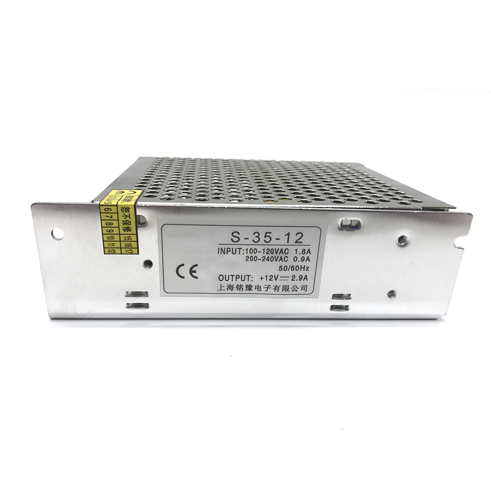 цены на AC 110V 220V to DC 12V 35W 2.3A Single Output Switching Mode Power Supply SMPS Lighting Voltage Transformer For LED Strip Driver в интернет-магазинах