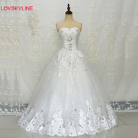2016 Summer Bride Diamond Slim Tube Top Women S Vestidos De Novia Wedding Dress 2016 Hot