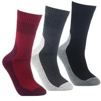 YUEDGE Brand 3 Pairs High Quality Men S Wicking Cushion Socks Outdoor Sports Multi Performance Walking