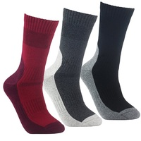 YUEDGE Brand 3 Pairs High Quality Men S Wicking Cushion Socks Outdoor Sports Multi Performance Walking