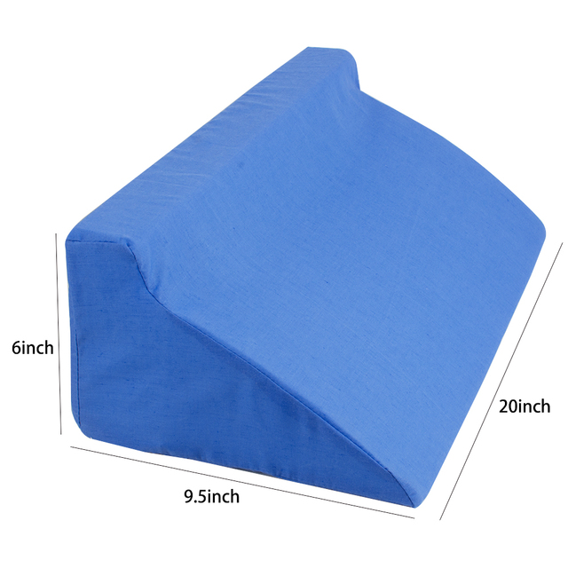 relieving pillow wedges for bed medical pains chair and kneewedge beneficial back leg low wedge foam