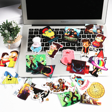 25Pcs lot Funny Anime Gravity Falls Sticker For Car Laptop Luggage Skateboard Motorcycle Decal Kids Toy