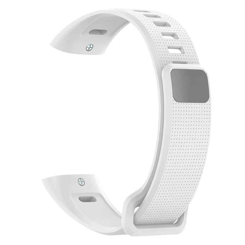 ซิลิโคนอ่อนสายนาฬิกาเปลี่ยนสายรัดข้อมือสำหรับ Huawei BAND 2/2 Pro/ERS-B19/ERS-B29 สายคล้อง