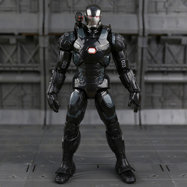 War Machine Action Figure The Avengers Movie Collectible Edition 7inch. 3