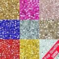Qualidade SUPERIOR 3mm 200 pcs AAA Bicone cristais Austríacos Upscale contas fornecimento bola solta cor AB chapeamento pulseira Jóias fazer DIY