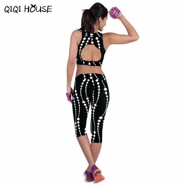 Leggings Fitness Womens Printed Stretch Top Fitness legging para academia mulheres
