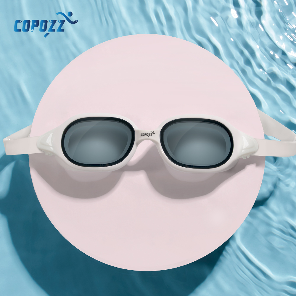 copozz unisex diopter swimming goggles myopia 0 -1.5 to -7 with anti fog uv protecion waterproof