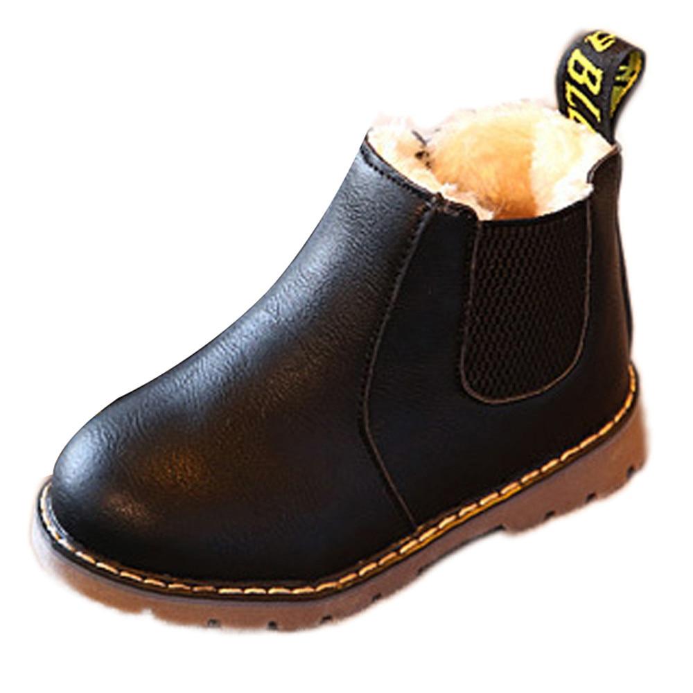 Us18 Voor Pluche Rubber Kids Meisjes Warm Schoenen 54 Sneakers Sneeuwschoenen 11Off Rits Chelsea Winter Enkel kinderschoenen Sneeuw Laarzen vmYIb7fy6g