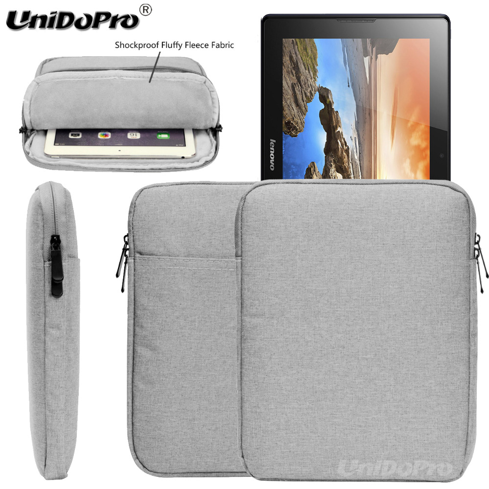 Unidopro Waterproof Pouch Case for Lenovo Tab 2 A10-70 A10 Miix 2 10 Tablet Protective Travel Sleeve Zipper Bag Cover case for lenovo tab 4 10 plus protective cover protector leather tab 3 10 business tab 2 a10 70 a10 30 s6000 tablet pu sleeve 10