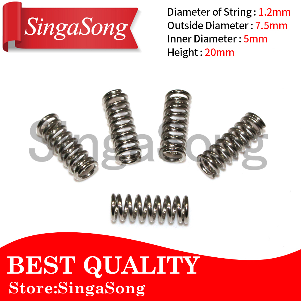 10pcs/lot 3 D printer accessory feeder spring for Ultimaker Makerbot Wade extruder nickel plating 1.2mm 20 mm top quality 3 d printer accessory heating of aluminum plate for thing o matic 12x12x0 5cm top quality free shipping