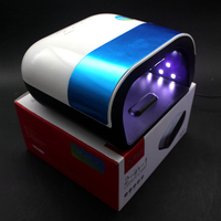 Silver SUN3 48W UV Lamp Dryer lampe UV Nail Lamp for Women Led Nail Dryer Use for Curing All Gels Nail Art Tools EU PLUG