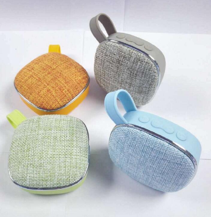 X25 Fabric art Wireless Bluetooth Speaker waterproof mini audio Portable outdoor mini speaker support TF card