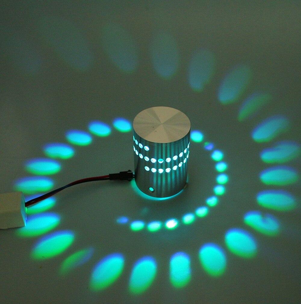 HTB1jlskXSSD3KVjSZFKq6z10VXac - Modern style 3W LED Wall Lamp AC85-265V Aluminum Indoor Lighting For KTV Bar Decorate Lights Luminaire Sconce Background Lamps