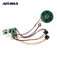 AIYIMA Mini Audio Portable Speaker Recordable Voice Module For Greeting Card Music Sound Talk Chip Musical