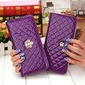 Распродажа! кошелек женский качественные, фиолетовые кошельки, женские с отделением для монет, с изображением цветов и знака доллара, красивые кошельки