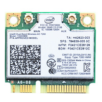 Intel Wireless N 7260 7260HMW 802 11b G N WiFi Bluetooth 4 0 Mini PCI