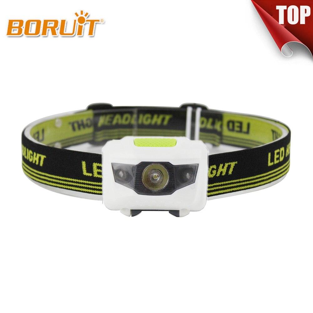 600lm Super Bright Mini LED COB Headlight Headlamp Flashlight Torch Light Lamps