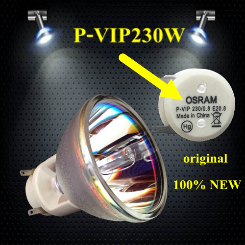 For Vivitek D791ST D792STPB D795WT D796WTPB projector buld lamp P-VIP 230/0.8 E20.8 vivitek qumi q6 wt white