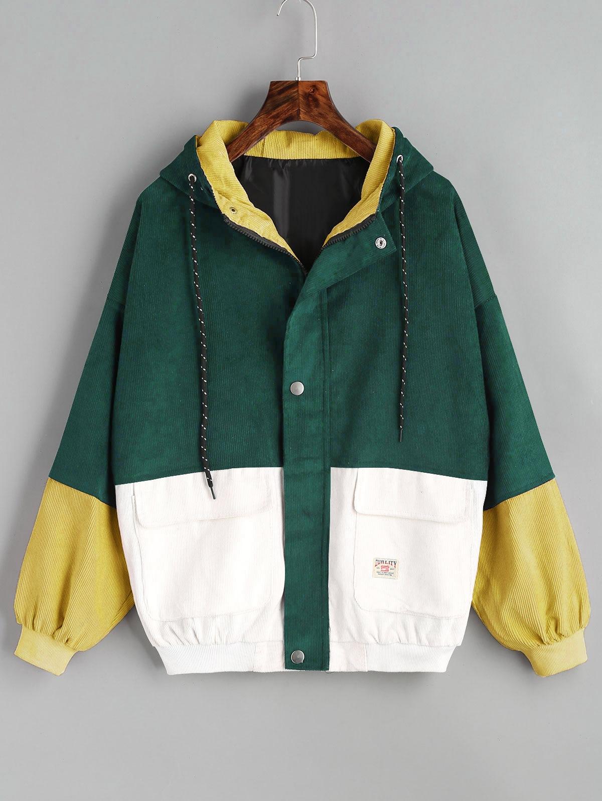 HTB1jluGhh6I8KJjy0Fgq6xXzVXa4 - Jackets Women Hip Hop Zipper Up Hoodies Coat female 2018 Casual Streetwear Outerwear PTC 302
