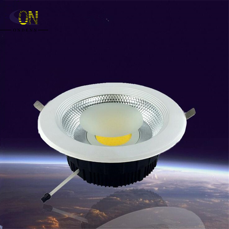 High Power 15W 20W 30W Dimmable LED Downlight COB