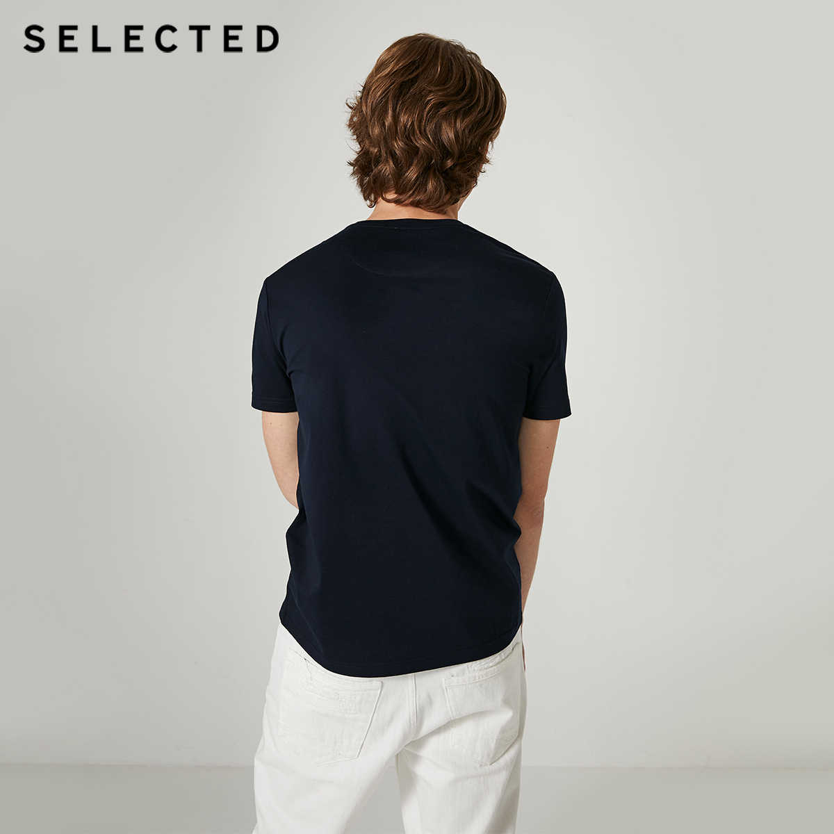 選択された男性の夏 100% 綿のプリント半袖 Tシャツ S | 419301513