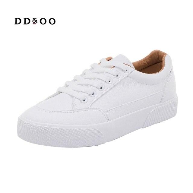 Sapatilhas femininas sapatos de moda primavera tendência casual apartamentos sapatilhas femininas nova moda conforto branco sapatos plataforma vulcanizada 6