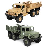1/16 2.4G 6WD RC Remote Control Rock Crawler Off Road Military Truck Car Toy