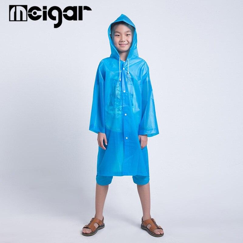 2aab50897c Regenmantel Kinder Regenponcho mit Kapuze wasserdicht regenbekleidung  regencape für Kinder und Mädchen Mädchen