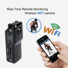 Mini WiFi P2P IP DV Camera Camcorder Motion Detect Video Record Web Cam Wireless Phone Sport Vehicle Baby Monitor TF Card MD81S
