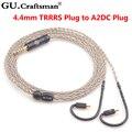 GUcraftsman 6N silber 8-core ATH-LS200is LS300is LS400is E70 E50 LS70is A2DC 2,5 MM/4,4 MM Balance Kopfhörer upgrade kabel