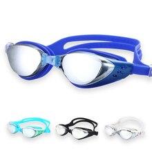 все цены на Professional Swim Glasses Men Women Waterproof Swimming Goggles Adult Swim Pool Anti-fog UV Water Sport Eyewear Swimming Glasses онлайн