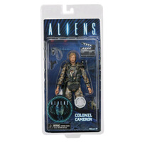 NECA ALIENS Figure COLONEL CAMERON Action Figure Collectible Model Toy 17cm