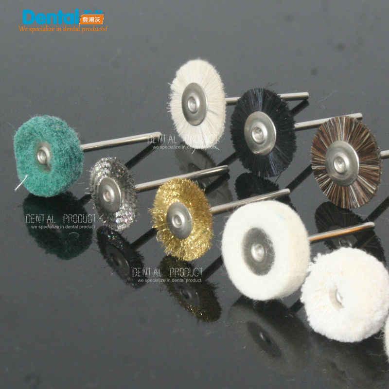 24ชิ้นLabทันตกรรมแปรงขัดล้อขัดสำหรับเครื่องมือโรตารี2.35มิลลิเมตร12ชิ้น/เซ็ต