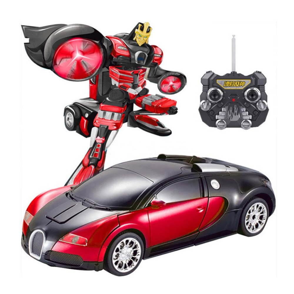 RC Car Sports Car Transformation Robots Models Children Toys