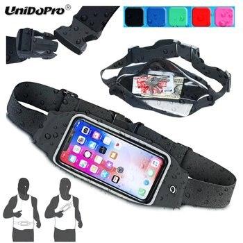 e17df249a56 Impermeable Deporte Fitness estuche para iPhone X XR XS Max 8 7 6 6 S Plus  teléfono cintura cubierta de la bolsa