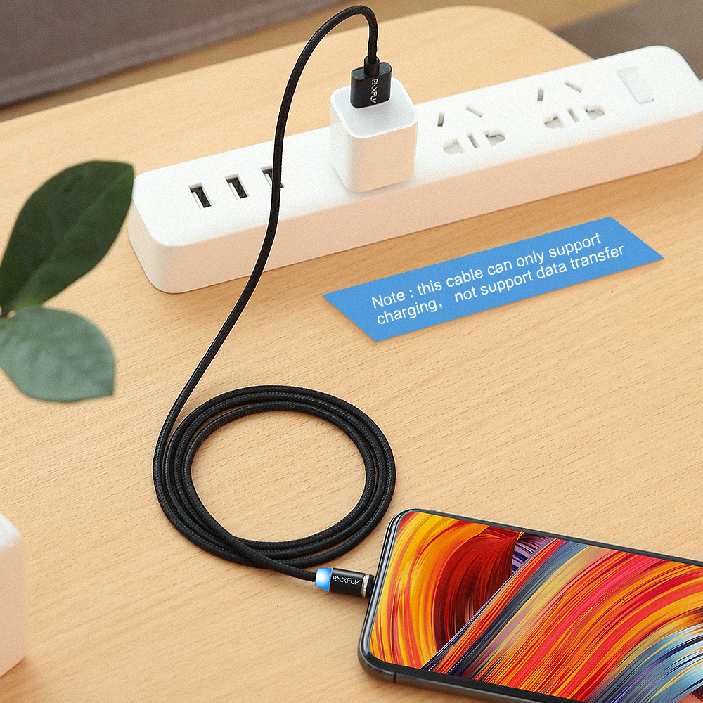 RAXFLY Magnetic Micro USB Cable For Xiaomi Redmi 4X Note 4X 1M Magnet Charger Wire For Samsung S6 Magnetic Charging For Android