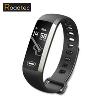 ROADTEC Smart Wristband Podometre Bluetooth Activity Bracelets Sport Heart Rate Monitor Fitness Connected Montre Cardio Band