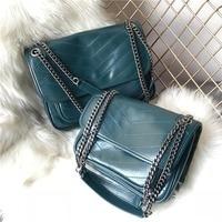 New Genuine Leather Women Shoulder Bag Trendy Hasp Design Lady Crossbody Bags Fashion Brand Leather Women Bag al502