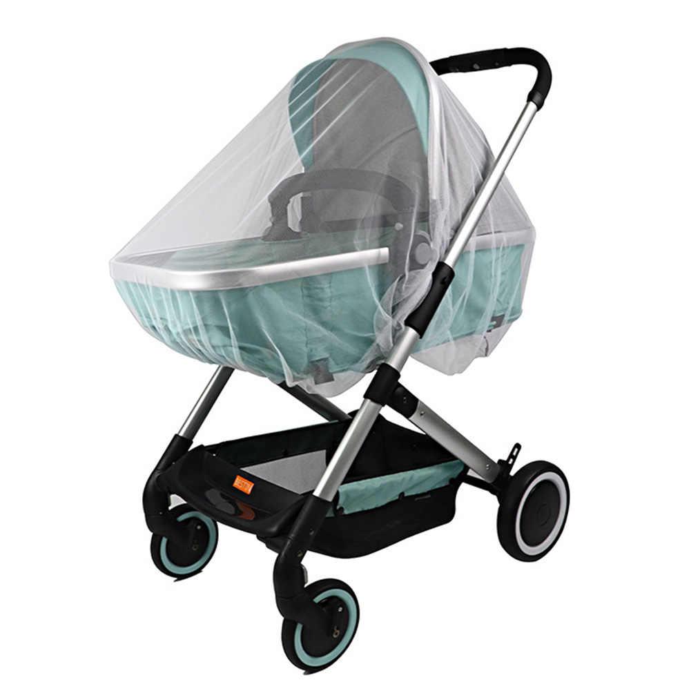 Akcesoria do wózków dziecięcych akcesoria do wózków dziecięcych bezpieczny wózek do wózka ochrona przed owadami moskitiera wózek do wózka dziecięcego siatka siatkowa